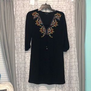 Above the knee black dress size XS. Worn once